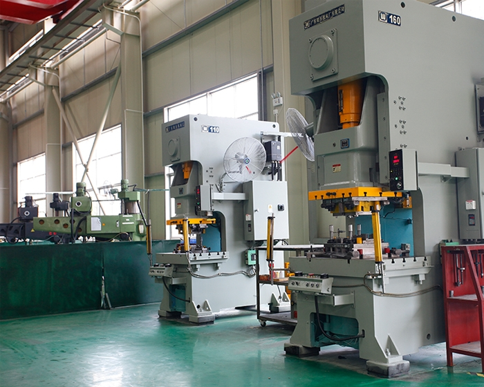 Small processing punch production line