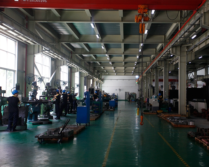 drilling and milling machine processing line